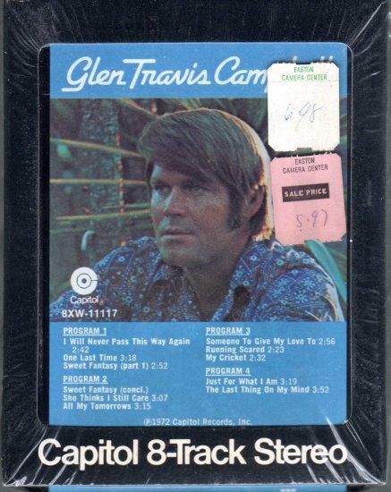 Glen Campbell - Glen Travis Campbell Sealed 8-track tape