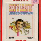 Jim Ed Brown - She's Leavin' Sealed 8-track tape