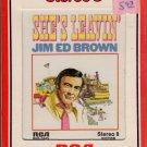 Jim Ed Brown - She's Leavin' Sealed 8-track tape