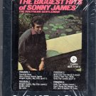 Sonny James - The Biggest Hits Of Sonny James 1971 CAPITOL Sealed 8-track tape