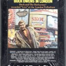 "Buck Owens - In London "" Live "" at the London Palladium Sealed 8-track tape"
