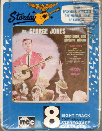 The George Jones Songbook & Picture Album Sealed Starday L55-401 RARE 8-track tape