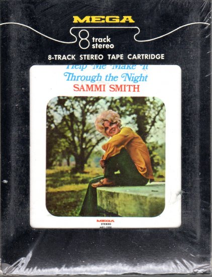 Sammi Smith - Help Me Make It Through The Night Sealed 8-track tape