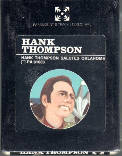 Hank Thompson - Hank Thompson Salutes Oklahoma Sealed 8-track tape