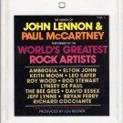 The Songs Of  Lennon & McCartney -  By World's Greatest Rock Artist's Vol 1 8-track tape