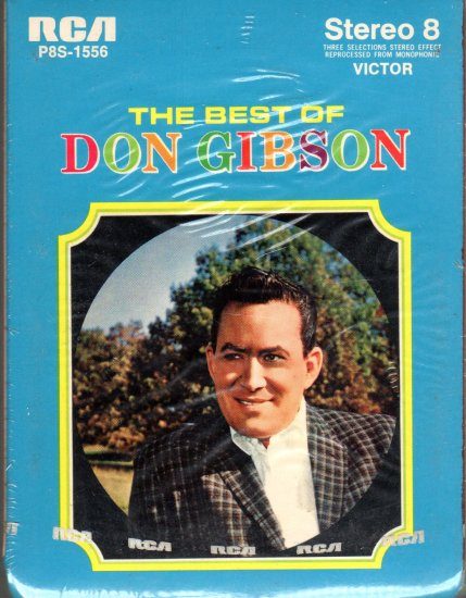 Don Gibson - The Best Of Sealed 8-track tape