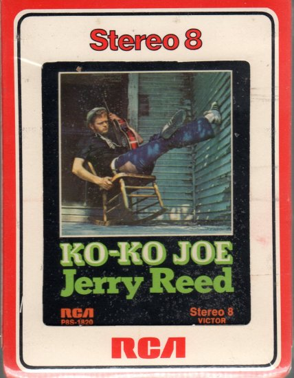 Jerry Reed - Ko-Ko Joe Sealed 8-track tape