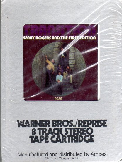 Kenny Rogers And The First Edition - Transition Sealed 8-track tape
