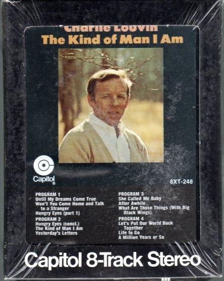 Charlie Louvin - The Kind Of Man I Am Sealed 8-track tape