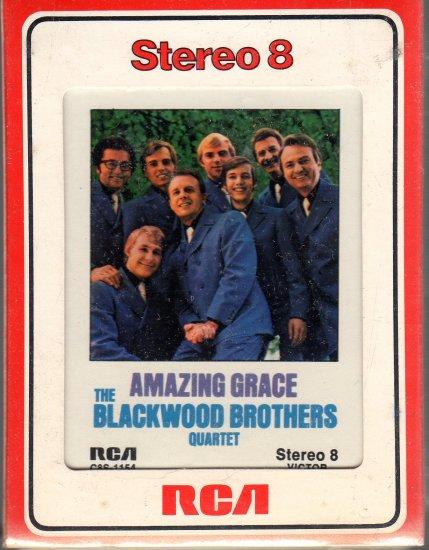 The Blackwood Brothers Quartet - Amazing Grace Sealed 8-track tape
