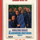 The Blackwood Brothers Quartet - Amazing Grace Sealed 8-track tape