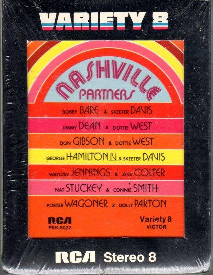 Nashville Partners - Various Artists Sealed 8-track tape