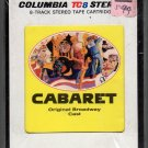 Cabaret - Original Broadway Cast Recording Sealed 8-track tape