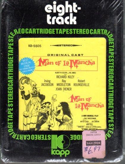 Man Of La Mancha - Original Cast Recording Sealed 8-track tape