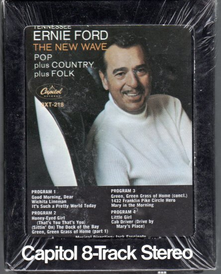 Tennessee Ernie Ford - The New Wave Sealed 8-track tape
