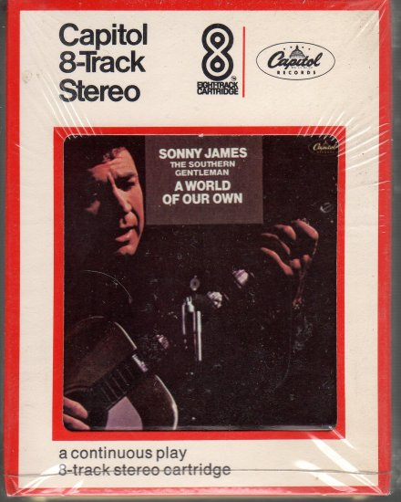 Sonny James - A World Of Our Own Sealed 8-track tape