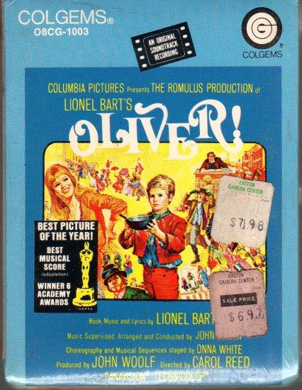 Oliver - Original Soundtrack 1968 Sealed Colgems 8-track tape