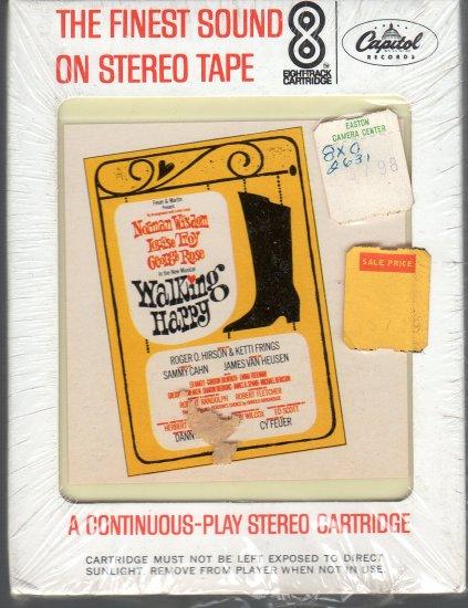 Walking Happy - Original Broadway Cast Recording Sealed 8-track tape