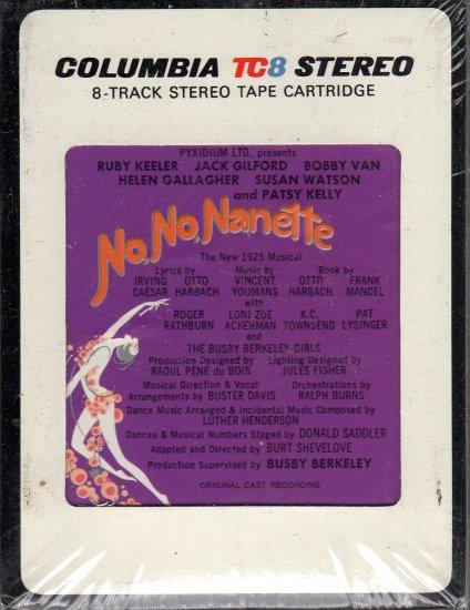 No, No, Nanette - Original Cast Recording Sealed 8-track tape