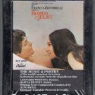 Romeo & Juliet - Original Soundtrack Recording Sealed 8-track tape