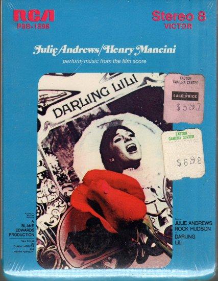 Darling Lili - Motion Picture Soundtrack Sealed 8-track tape