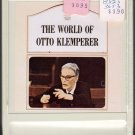 Otto Klemperer - The World Of Otto Klemperer Sealed A27 8-track tape
