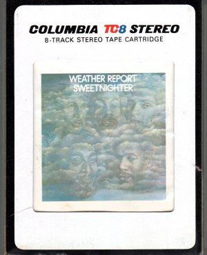 Weather Report - Streetnighter 8-track tape