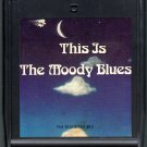 The Moody Blues - This Is The Moody Blues Part 1 CRC 8-track tape
