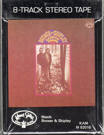Brewer & Shipley - Weeds 1969 Sealed Ampex 8-track tape