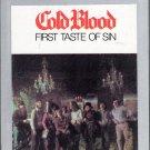 Cold Blood - First Taste Of Sin 1972 Sealed 8-track tape