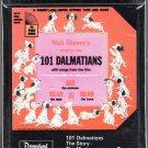 Disney Studios - 101 Dalmations 1970 Sealed Ampex 8-track tape