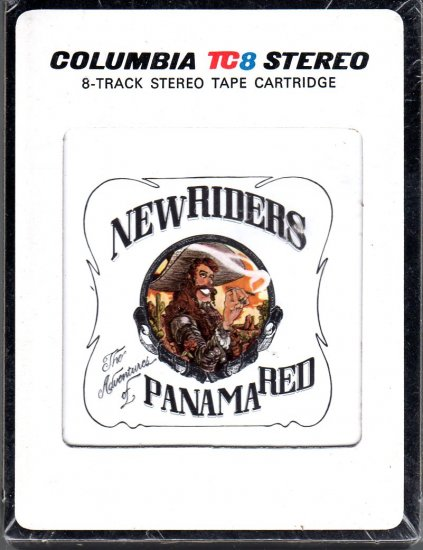 New Riders Of The Purple Sage - The Adventures Of Panama Red Sealed 8-track tape