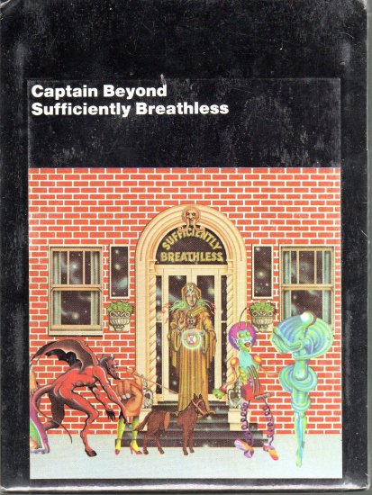 Captain Beyond - Sufficiently Breathless Sealed 8-track tape