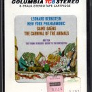 Leonard Bernstein - The Carnival Of The Animals Sealed 8-track tape