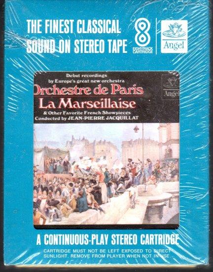 Orchestre de Paris - La Marseillaise Sealed 8-track tape