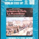 Orchestre de Paris - La Marseillaise Sealed 8-track tape