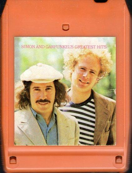 Simon & Garfunkel - Greatest Hits 8-track tape