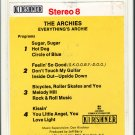 The Archies - Everything's Archie 8-track tape