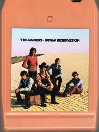 The Raiders - Indian Reservation 8-track tape