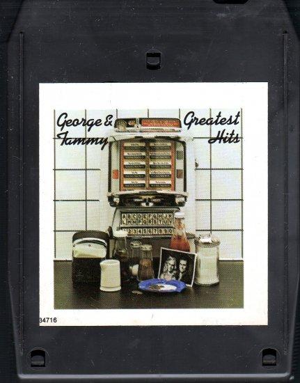 George Jones / Tammy Wynette - Greatest Hits 8-track tape