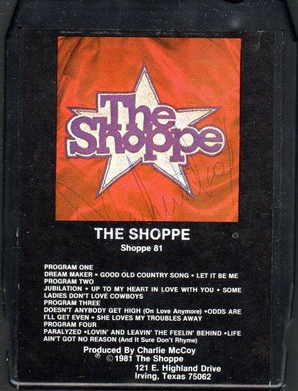 The Shoppe - Shoppe 81 Signed 8-track tape