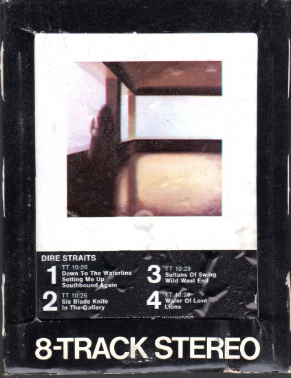 Dire Straits - Dire Straits Debut 8-track tape