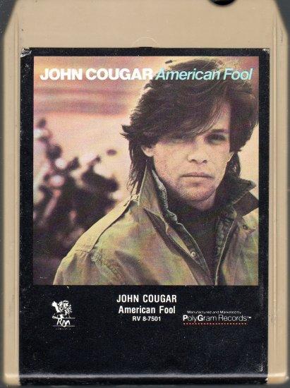 John Cougar - American Fool 8-track tape