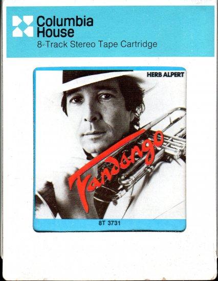 Herb Alpert - Fandango 1982 CRC 8-track tape