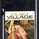 Martin Denny - Quiet Village Black Cart  Liberty 8-track tape