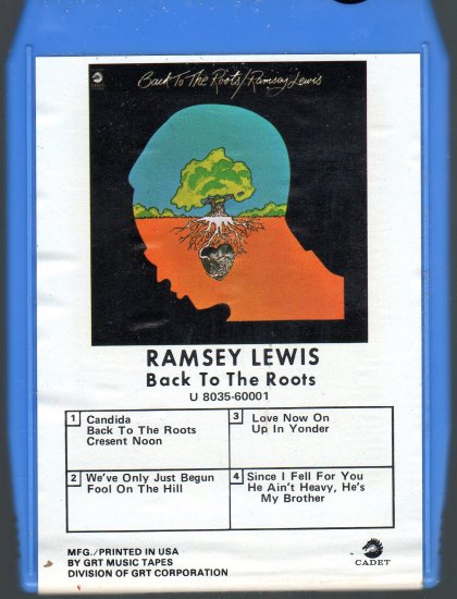 Ramsey Lewis - Back To The Roots 8-track tape