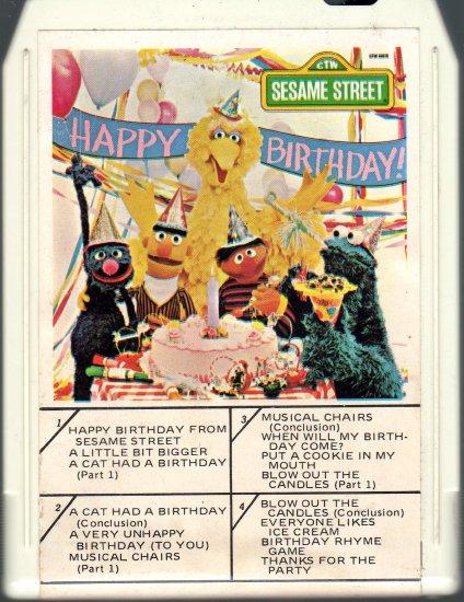 Sesame Street - Happy Birthday From Sesame Street 8-track tape
