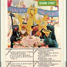 Sesame Street - Happy Birthday From Sesame Street 8-track tape