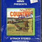 Country Fever - Various Artists Ronco 8-track tape