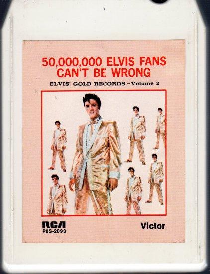 Elvis Presley - Elvis Gold Records Vol 2 8-track tape